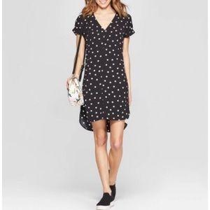 A New Day Polka Dot Shift Dress